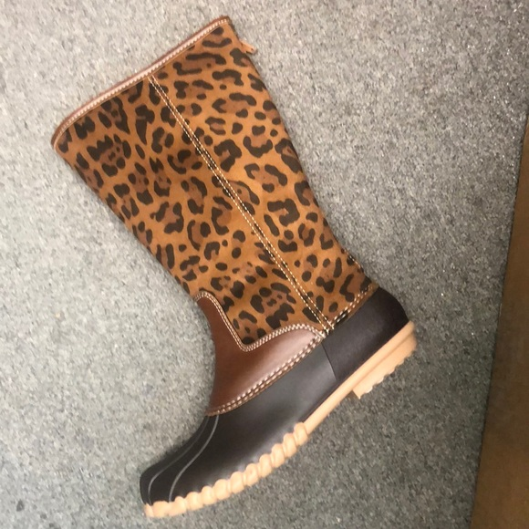 outwoods Shoes | Cheetah Print Duck